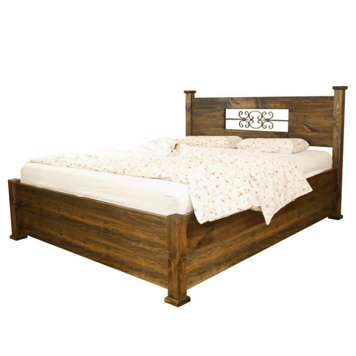 łóżko z naturalnego drewna warszawa