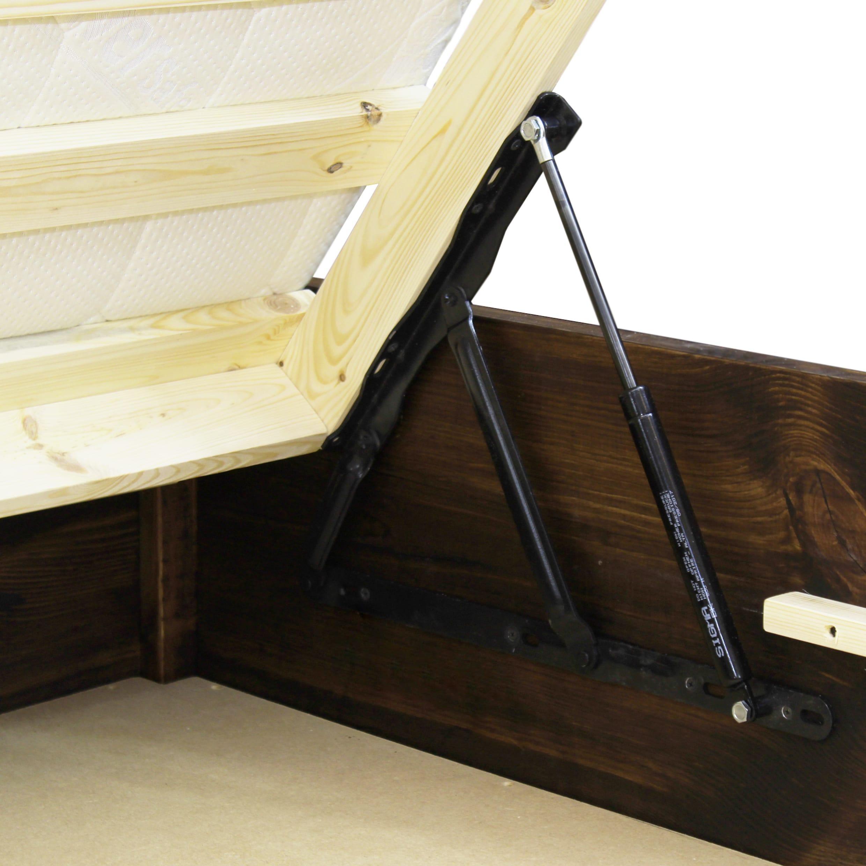 łóżko drewniane z pojemnikiem warszawa