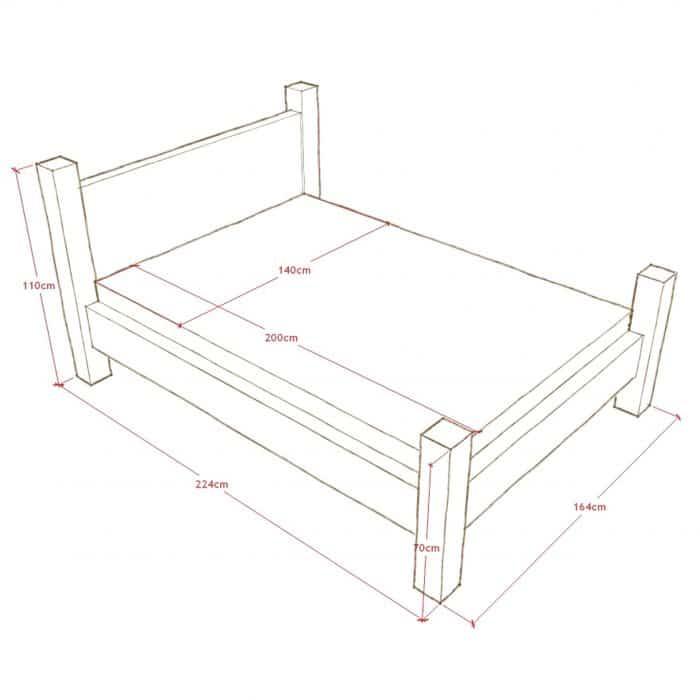 łóżko drewniane stylowe warszawa