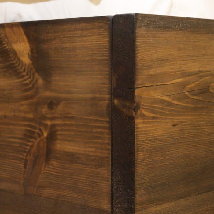 drewniane łóżko 180x200