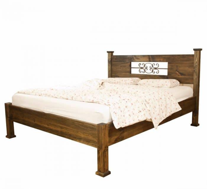 łóżko drewniane rzeźbione warszawa
